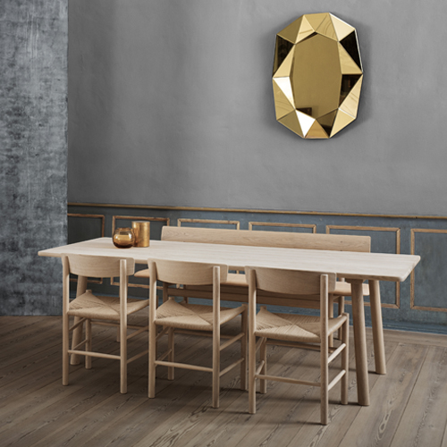 Taro - new dining table by Jasper Morrison